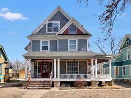 wrap around porch houses for sale wrap around porch wichita real estate wichita ks homes for