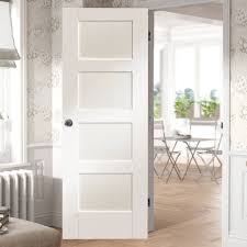White 2 Panel Interior Doors by Shaker 4 Panel Fire Door Is White Primed And 1 2 Hour Fire Rated