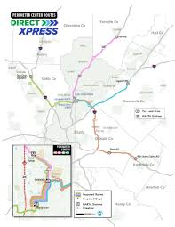 Marta Atlanta Map Xpress Bus Routes Will Change Under New Service Plan Spinning