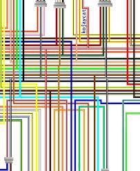 suzuki sv1000 k5 k6 usa spec colour wiring loom circuit diagram
