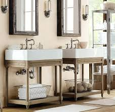 vanities restoration hardware bathroom farmhouse bathrooms