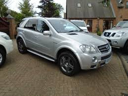 mercedes benz jeep 6 wheels used 2007 mercedes benz m class 6 3 ml63 amg 7g tronic 5dr for