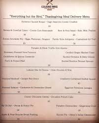 order everything but the bird from cousins mike philly grub