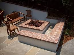 Brick Fire Pits by Square Brick Fire Pit Fire Pit Ideas