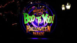 halloween boo mickey u0027s boo to you halloween parade 2012 youtube