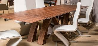 aico trance european modern rapture wood top dining table usa
