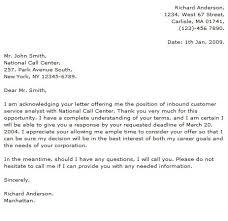 Free Sample Cover Letter Customer Service