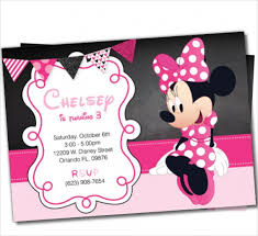 12 minnie mouse invitations psd vector eps ai illustrator