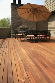 cumaru hardwood decking 1x4 on 1x4 sleepers dry deck underneath