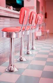 Diner Style Kitchen Table by 56 Best American Diner Style Images On Pinterest Retro Kitchens