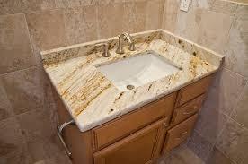 Granite Bathroom Vanities S Gold Granite Bathroom Vanity Traditional Bathroom Dc