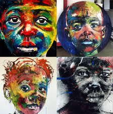 artist nelson makamo u0027s dynamic portraits of johannesburg children