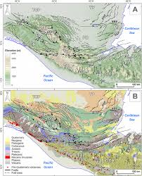 Central America And Caribbean Map by Geomorphic Analysis Of Transient Landscapes In The Sierra Madre De