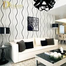 Wallpaper Livingroom by Aliexpress Com Buy Simple Modern 3d Stereoscopic Wall Paper