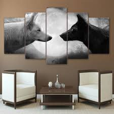 wolf home decor home decor wall art sunny and smile