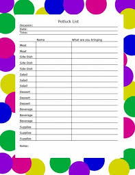 potluck sign up sheet equipped concept thanksgiving printable