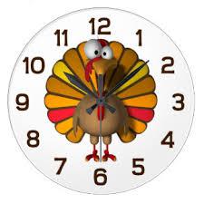 thanksgiving wall clocks zazzle co nz