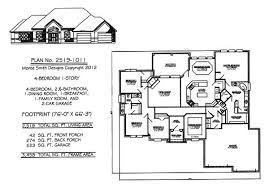 1 level house plans cozy ideas one level house plans with 4 bedrooms 13 european plan
