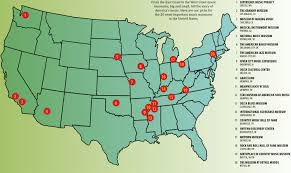 Map Of Memphis Tennessee by 20 Important American Music Museums Making Music Magazine