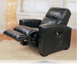 massage black recliner chair leather recliner recliners coaster