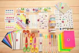 school memories album diy decorate accessories photo album paper theme autograph