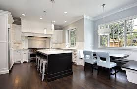 black island and white cabinets kitchen gorgeous contrasting kitchen island ideas pictures