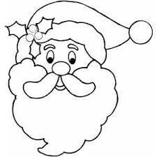 Free Printable Santa Face Santa Face Coloring Page Wood Princess Stencil Free Coloring Sheets