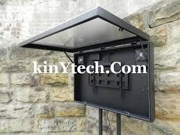 outdoor tv cabinet enclosure cool outdoor tv cabinet wonderful tv enclosure design