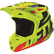 motocross racing helmets fox racing 2016 v2 race helmet blue yellow available at motocross