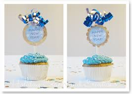 New Years Eve Decorations Printable by New Year U0027s Eve Cupcake Ideas