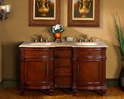 Double Vanity Cabinet Furniture Amazing 60
