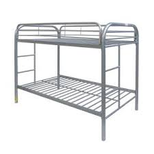 acme furniture thomas twin over twin metal kids bunk bed 02188si