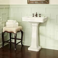 24 inch pedestal sink fitzgerald 24 inch pedestal sink three hole dxv