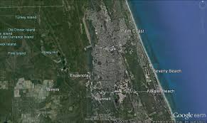 Satellite Map Of Florida by Two Years Of Flagler County Growth In Pictures From Google Earth