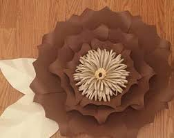 paper flower template etsy