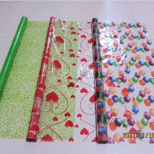 gift wrapping paper rolls plastic gift wrap paper roll print patterned present packaging