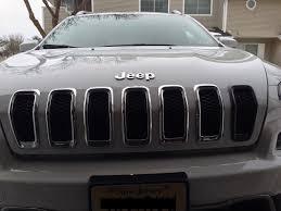oem trailhawk grill inserts 2014 jeep cherokee forums