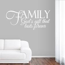 family god s gift wall decals wall decor stickers foyer family god s gift wall decals wall decor stickers