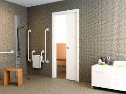 Bathroom Pocket Doors Sliding Bathroom Door Into Wall U2022 Sliding Doors Ideas