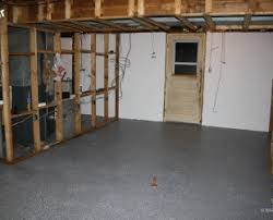 Basement Floor Paint Ideas Saving Small Spaces Living Room Desgin With Diy Wood Floating Wall
