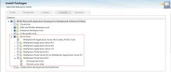 developing portlet projects on websphere application server
