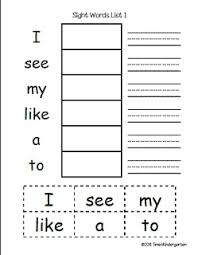 91 best sight words images on pinterest activities and