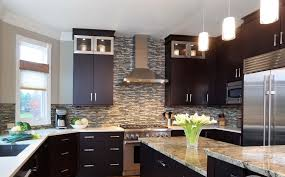 modern kitchen colors with dark cabinets kitchen colors with