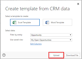 Creating Templates In Excel Analyze Your Data With Excel Templates Microsoft Dynamics 365