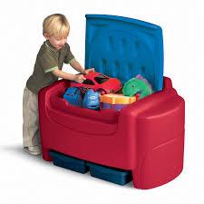 Toy Box Ideas Lipper Navy Toy Box Hayneedle