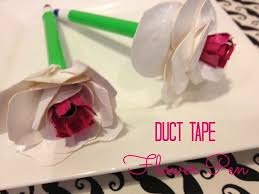 Duct Tape Flowers Vases And Pens How To Make A Duct Tape Rose Flower 18 Ways Guide Patterns