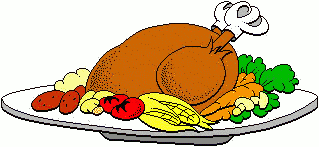thanksgiving dinner clipart free pictures clip