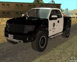 truck ford raptor ford raptor police for gta san andreas