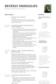 Medical Transcriptionist Resume Sample by Volunteer Resume Samples Visualcv Resume Samples Database