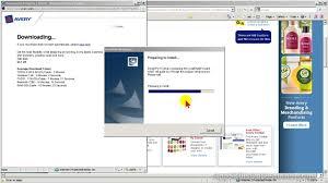 avery design pro 5 avery design pro lesson 2 installing app
